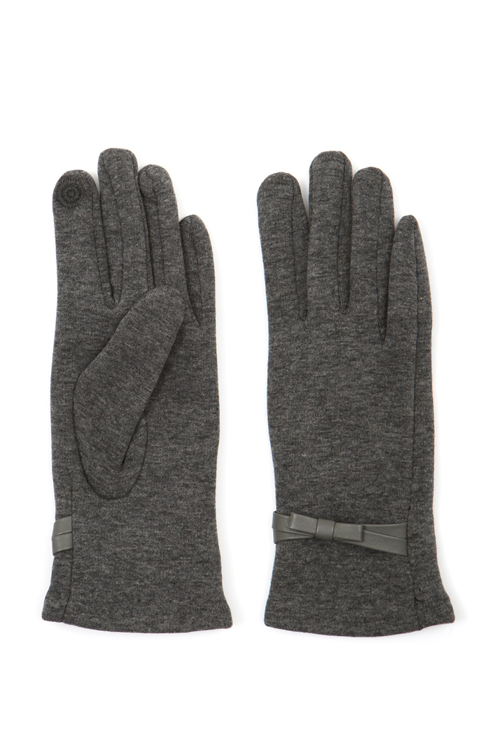 Cotton jersey gloves Intrend