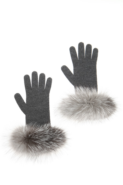 Fox cuff gloves Intrend