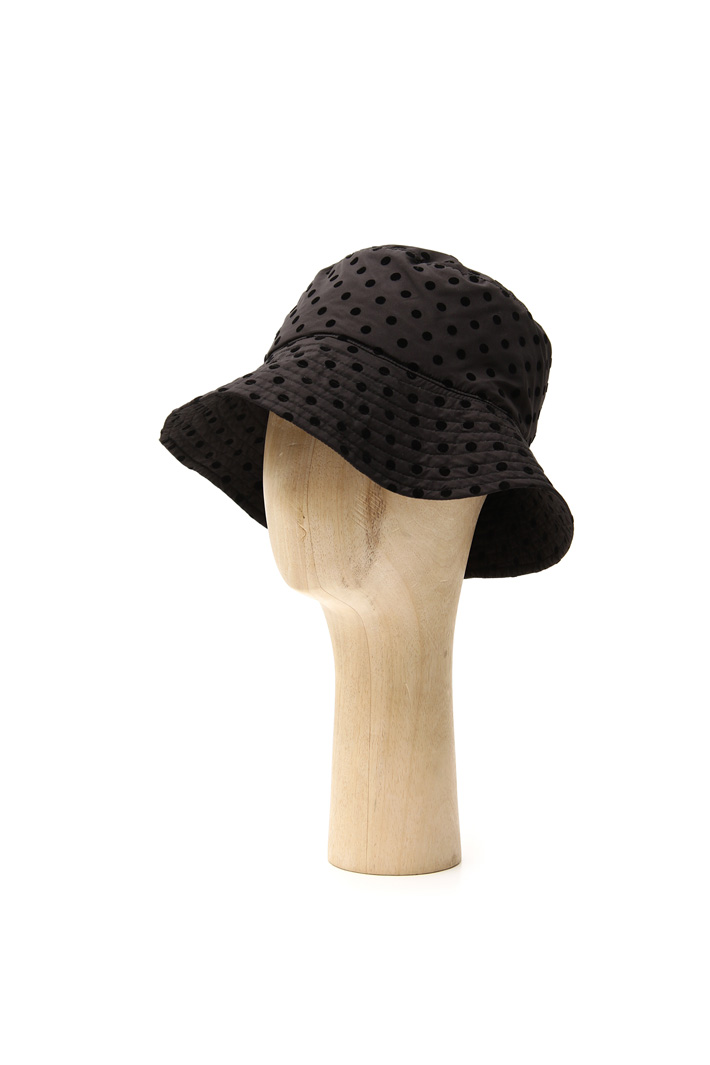 Flock polka dot hat Intrend