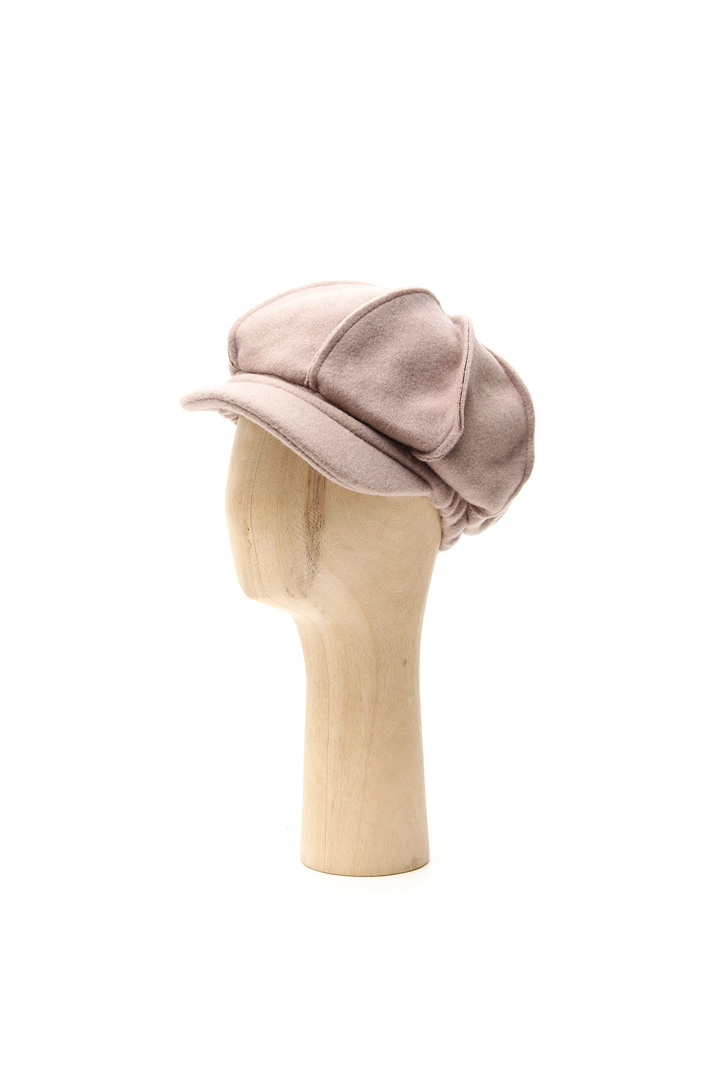 Felted beret with visor Intrend