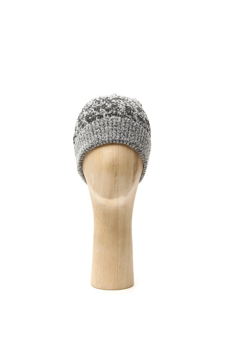 Knitted lurex beanie hat Intrend