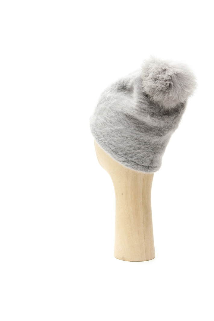 Angora blend yarn hat Intrend