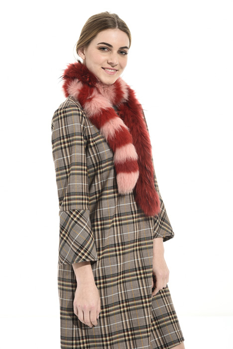 Fox fur scarf Intrend