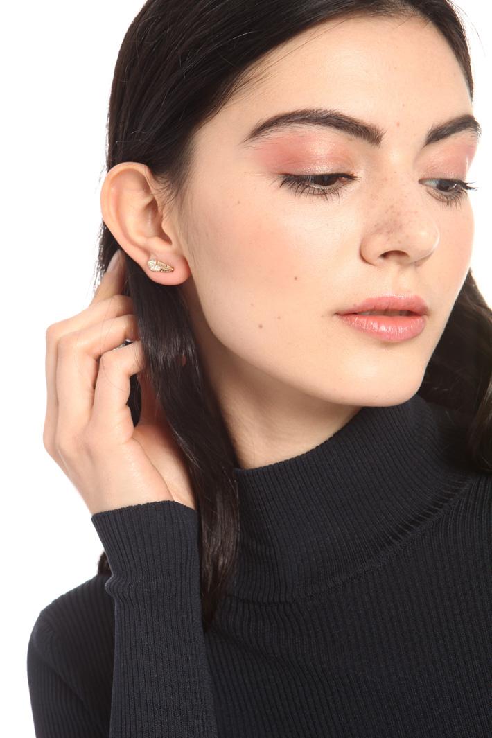 Rhinestone ear studs Intrend