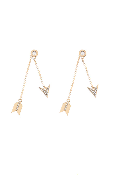Metal drop-earrings Intrend