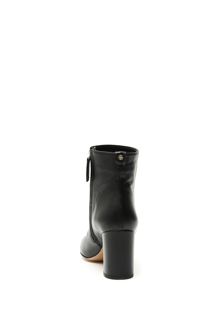 Nappa leather ankle-boot Intrend