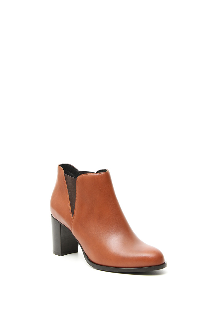 Real leather ankle-boots Intrend