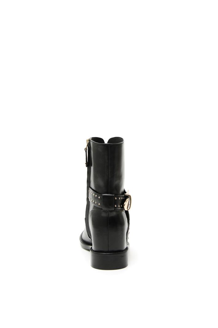 Internal wedge heel ankle boot Intrend