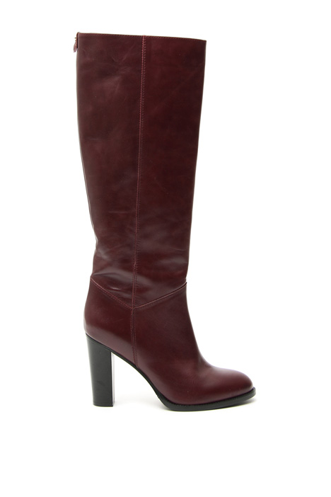 High leather boots Intrend