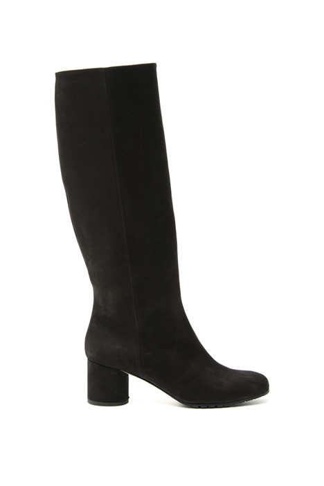 Matte leather boots Intrend