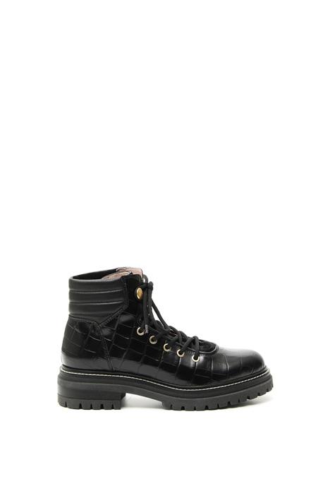Calf skin trekking boots Intrend