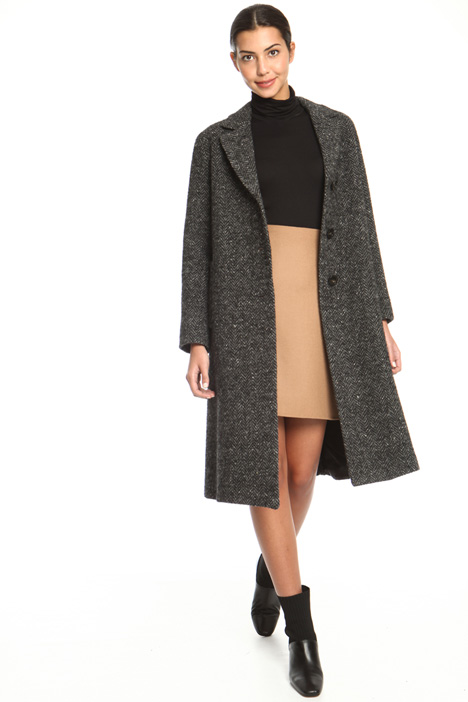 Wool tweed coat Intrend