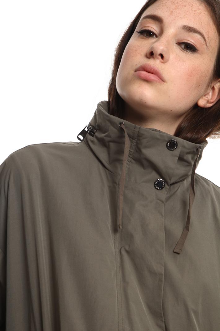 High neck parka coat Intrend
