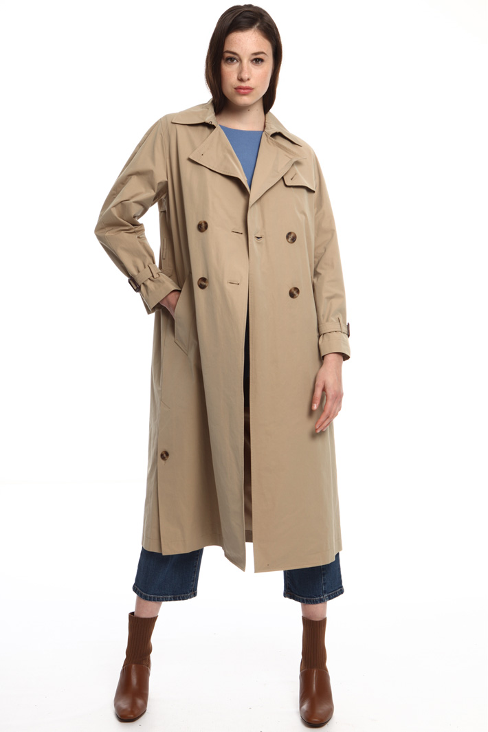 Pure cotton trench Intrend