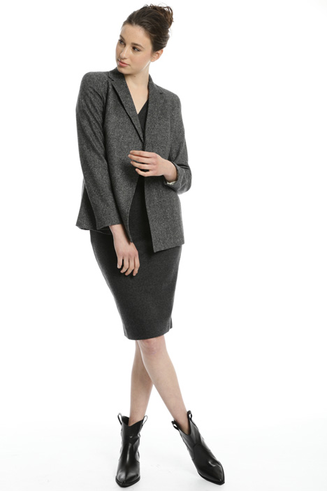 Wool and silk blend blazer Intrend