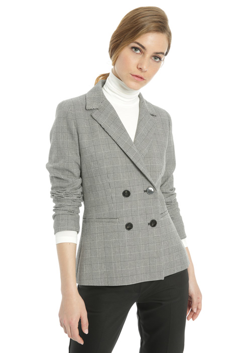 Stretch effect blazer Intrend