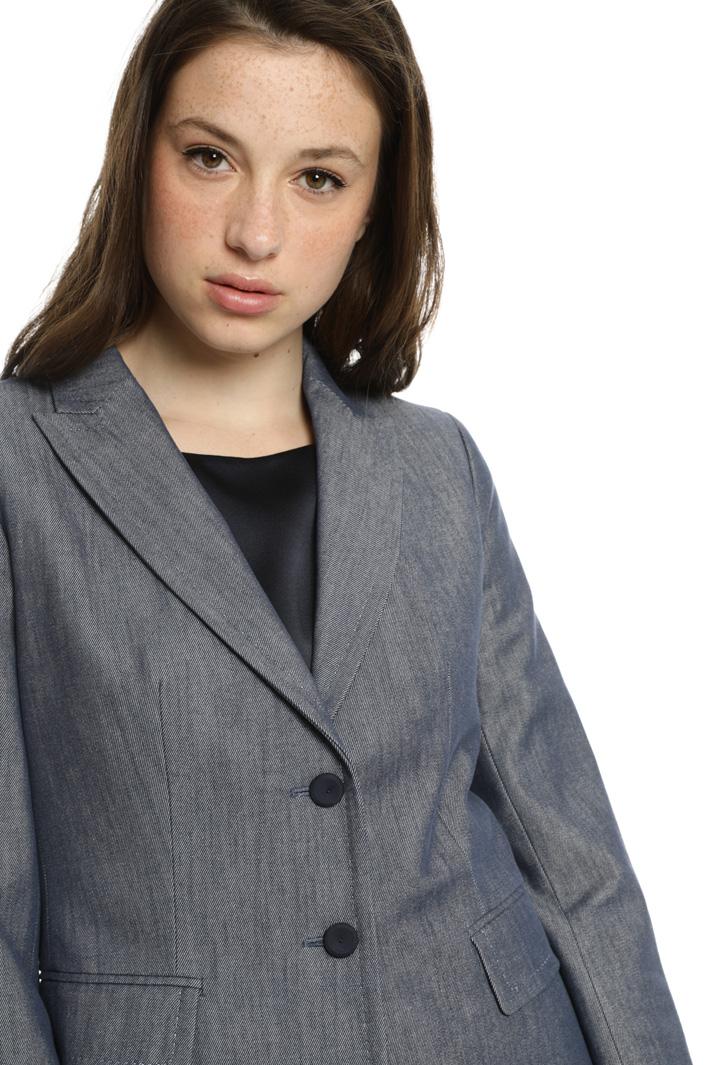 Denim effect jacket Intrend