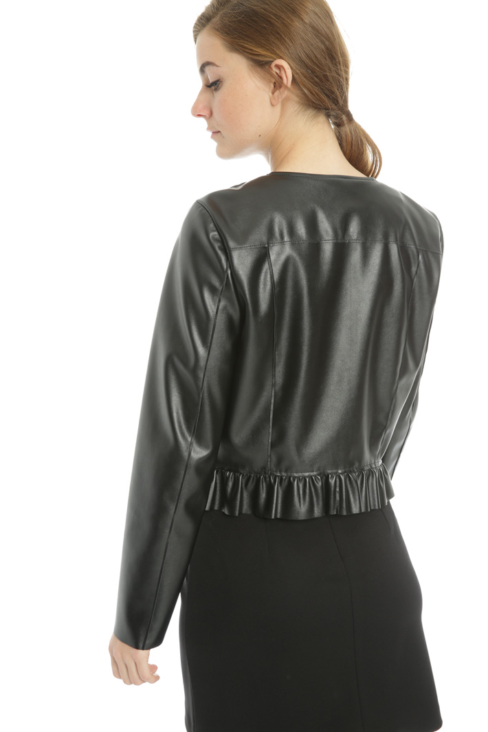 Leatherette jacket Intrend