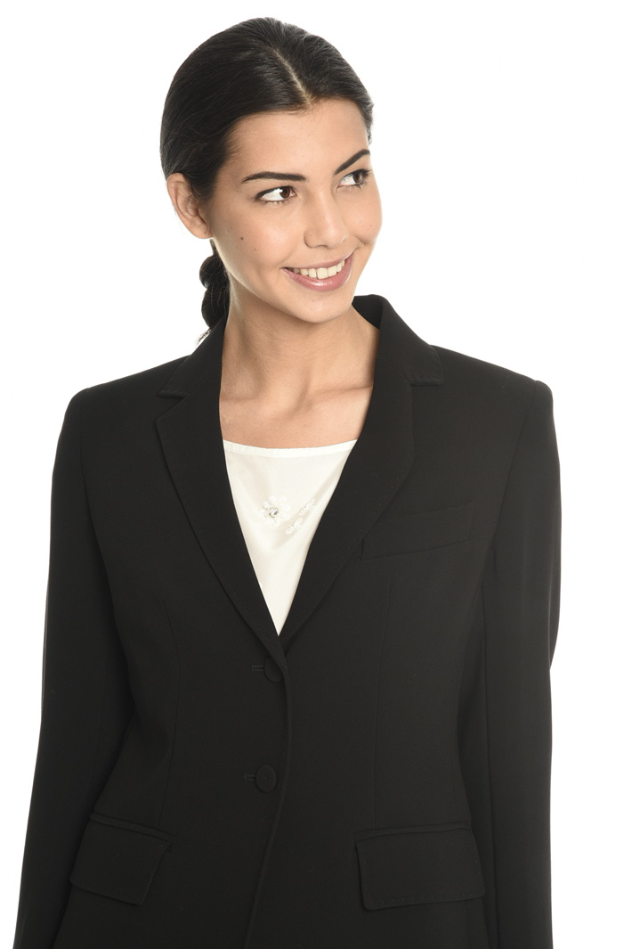 Blazer with covered buttons  Intrend
