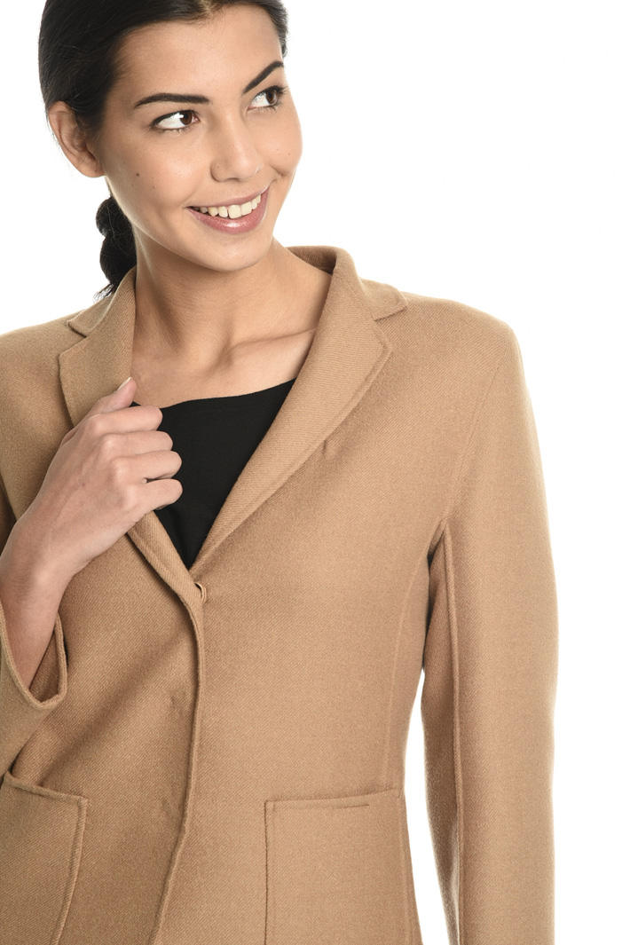 Wool drap blazer   Intrend