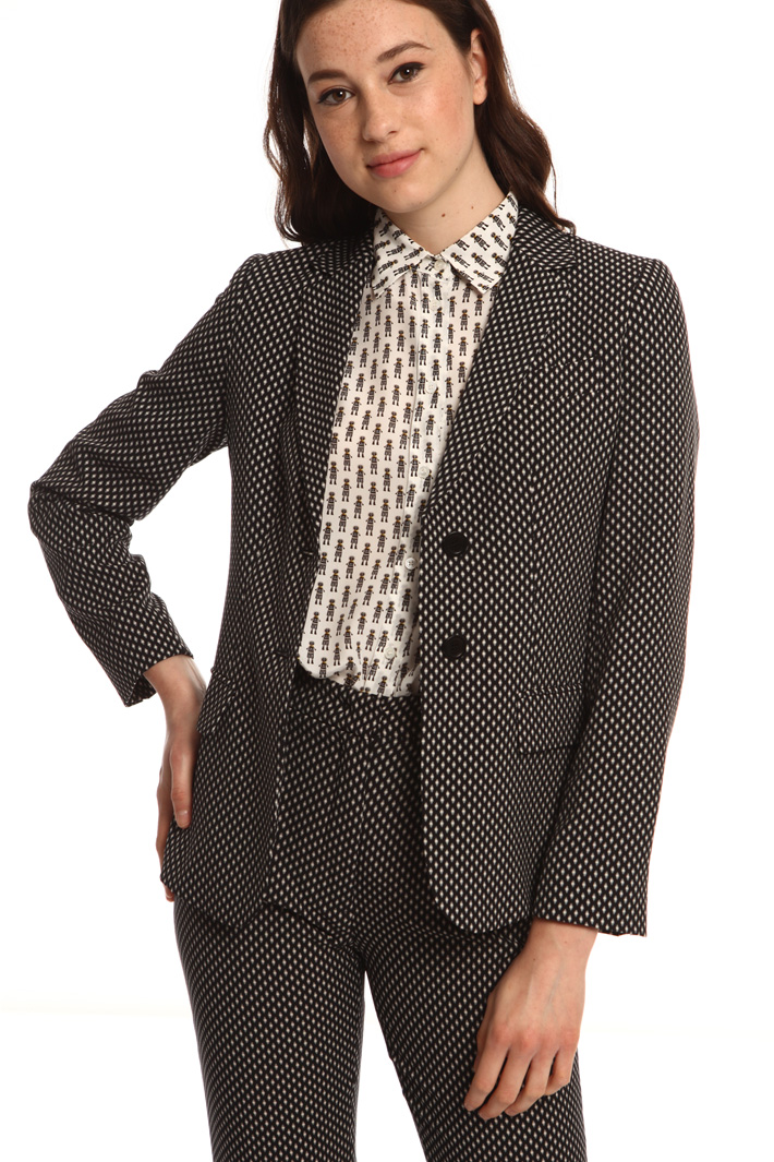 Crepe cady blazer Intrend