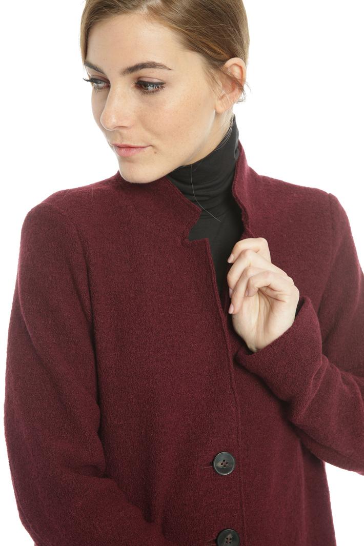 Wool jersey coat Intrend