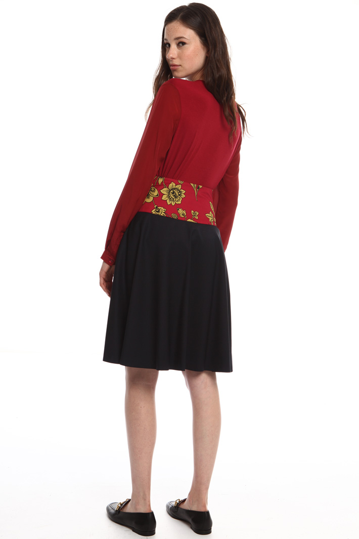Wool wrap skirt Intrend