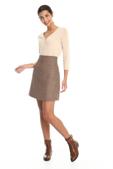 Wool twill skirt Intrend