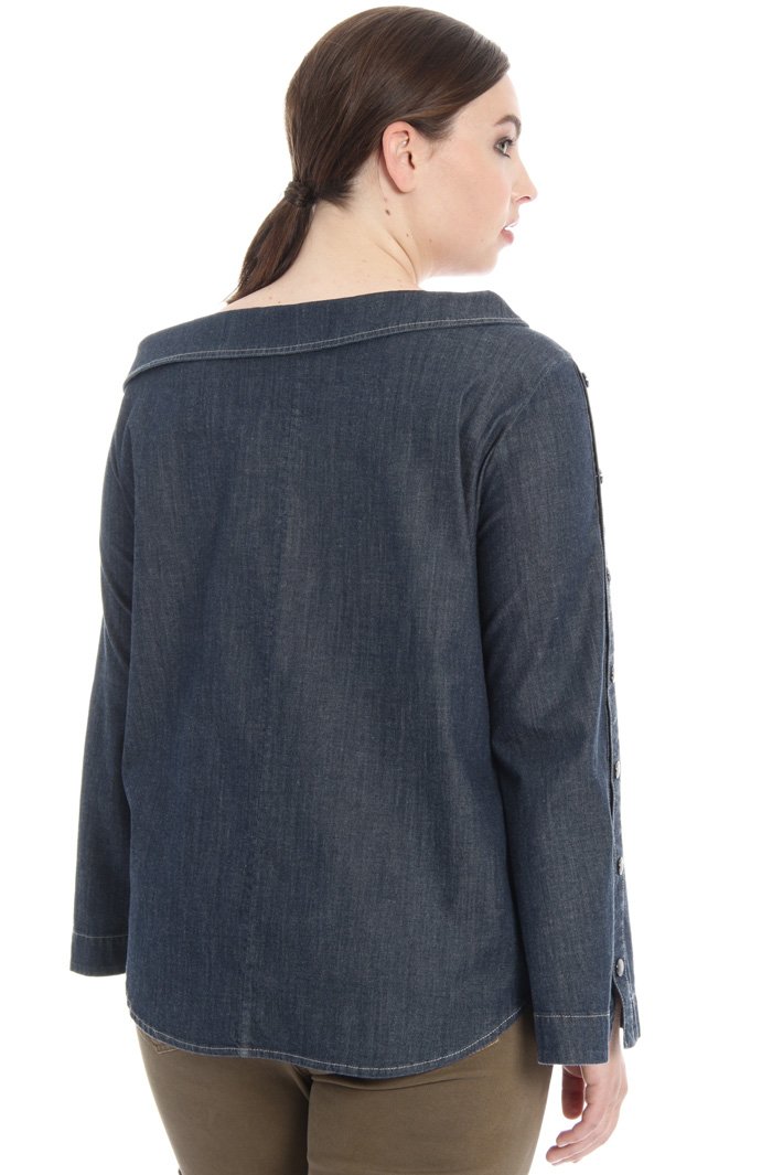 Boat neck shirt Intrend