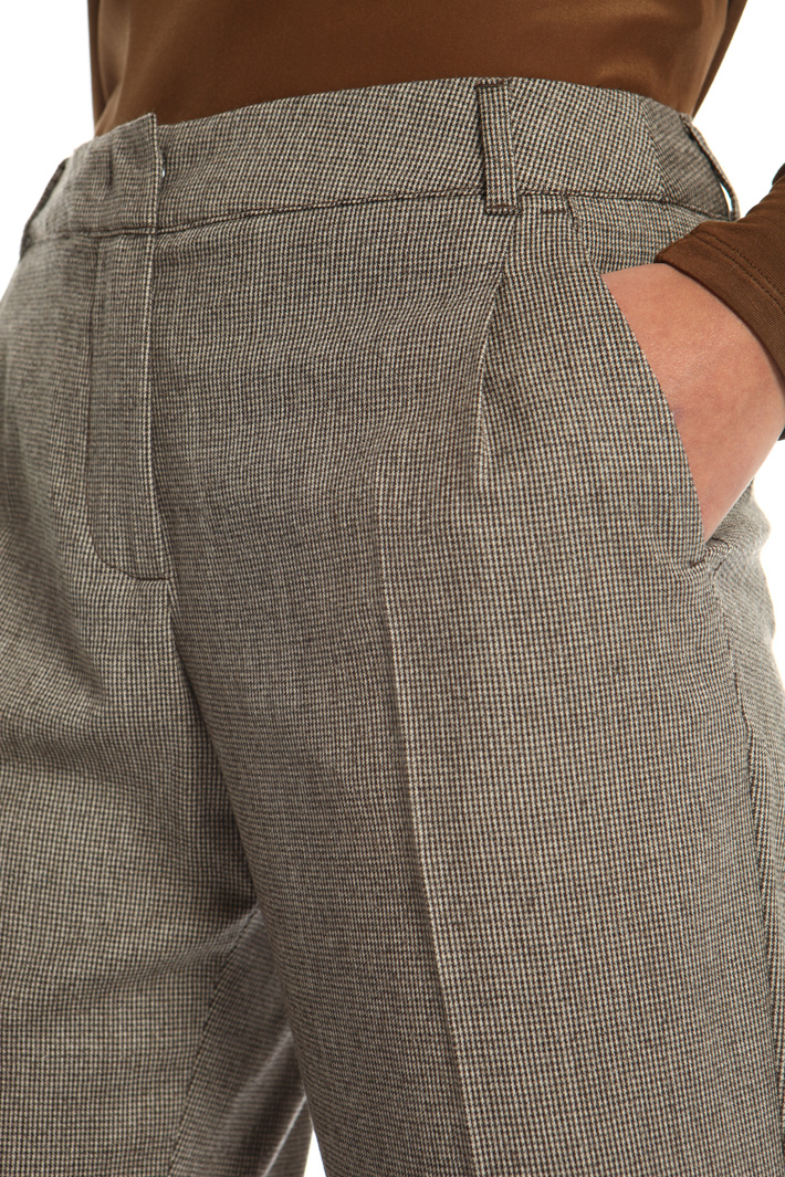 Flannel wool trousers  Intrend