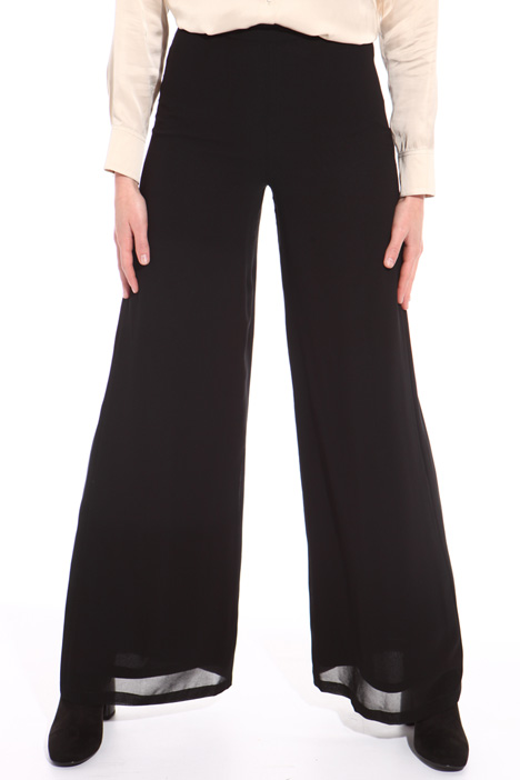 Pantalone palazzo in georgette Intrend