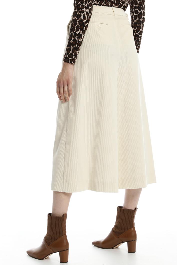 Cotton velvet trousers Intrend