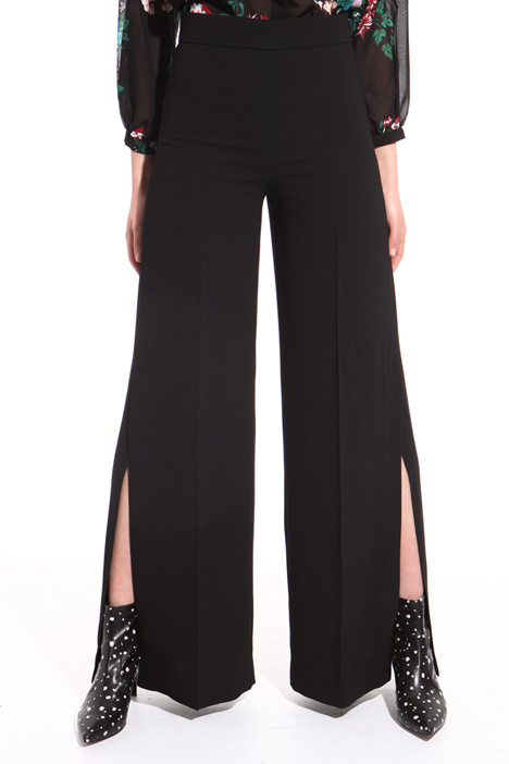 Palazzo trousers with slits  Intrend