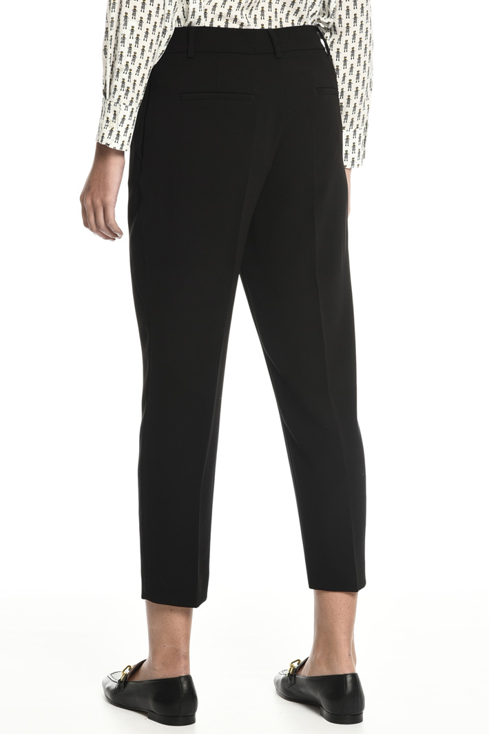 High rise carrot trousers Intrend