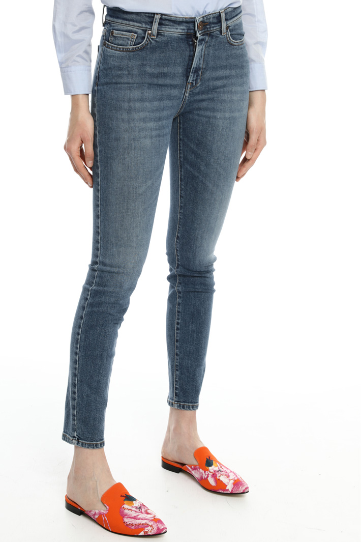 Denim skinny jeans Intrend