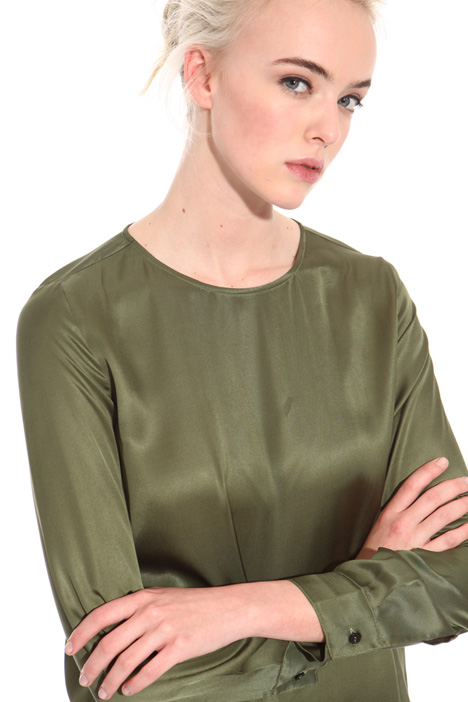 Satin viscose blouse Intrend