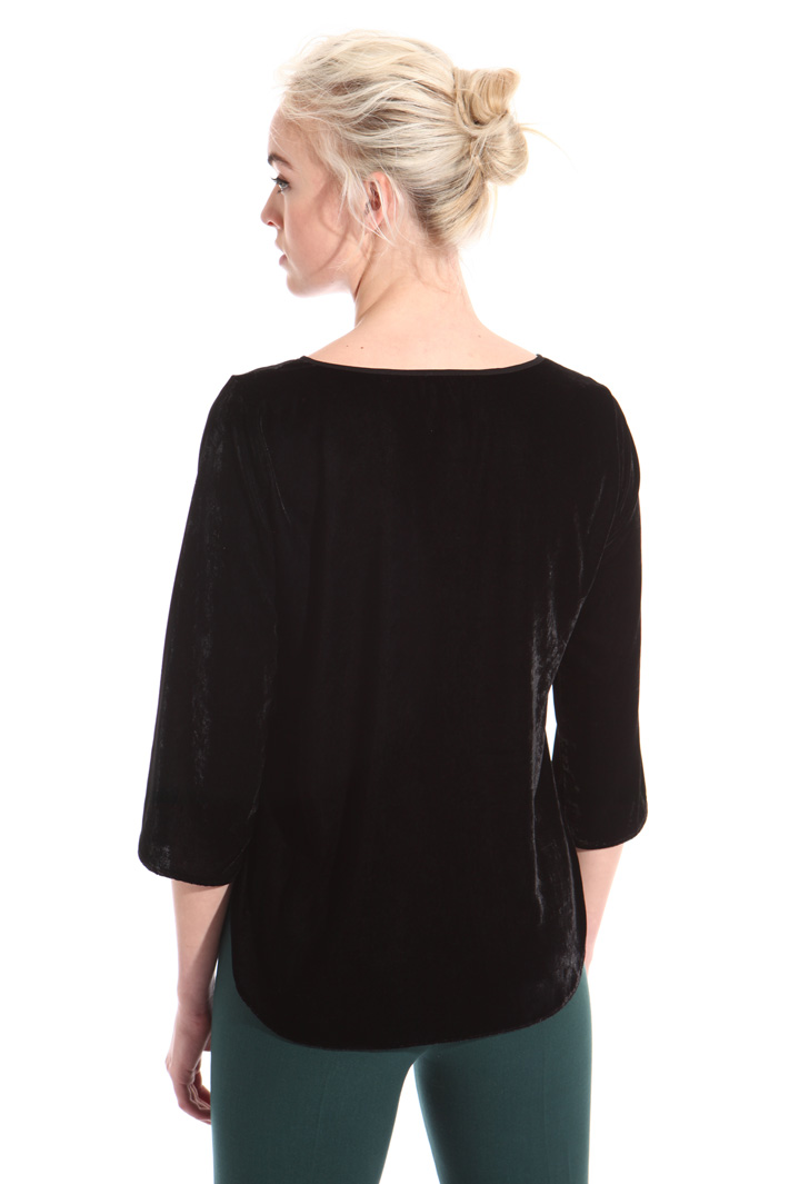 Boxy fit chenille top Intrend