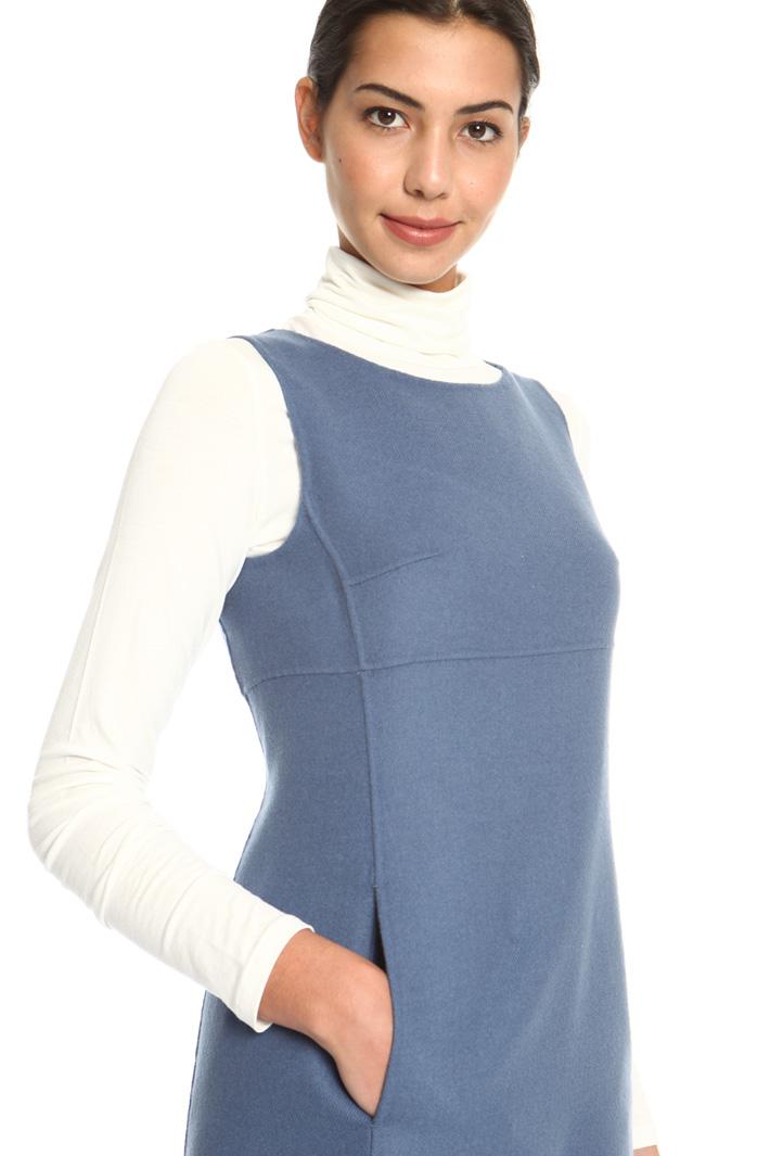Wool drap dress Intrend