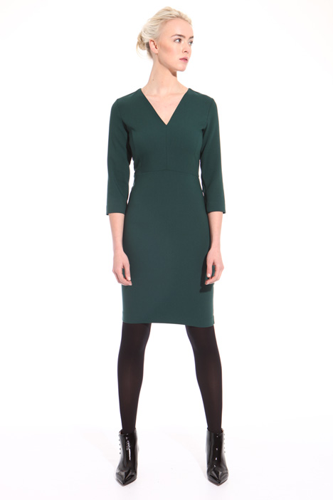 Double fabric sheath dress  Intrend