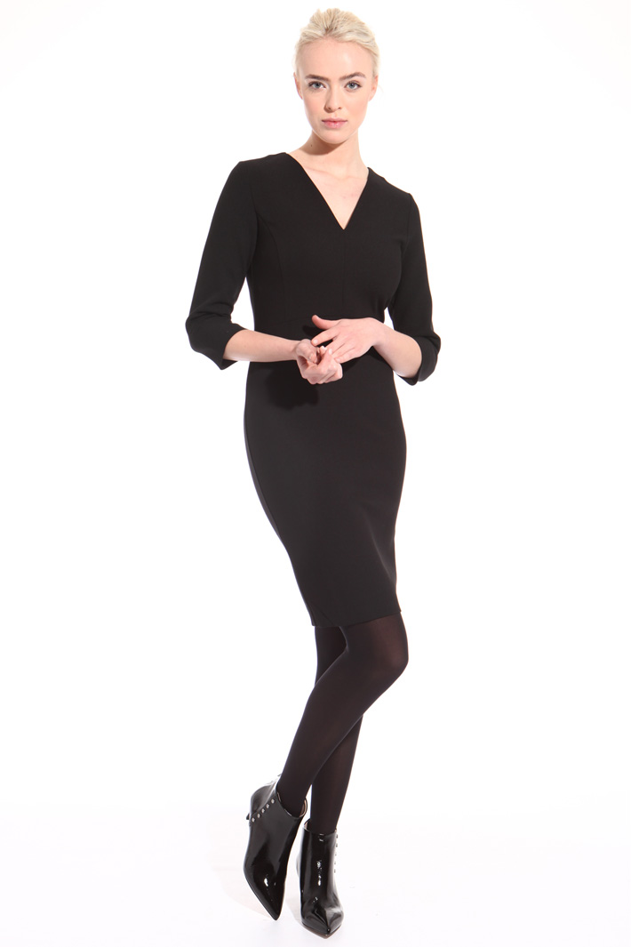 Double fabric sheath dress  Intrend