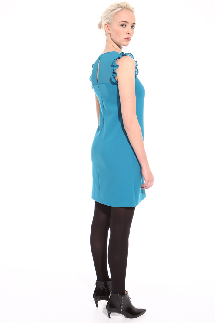 Mini dress in stretch fabric Intrend