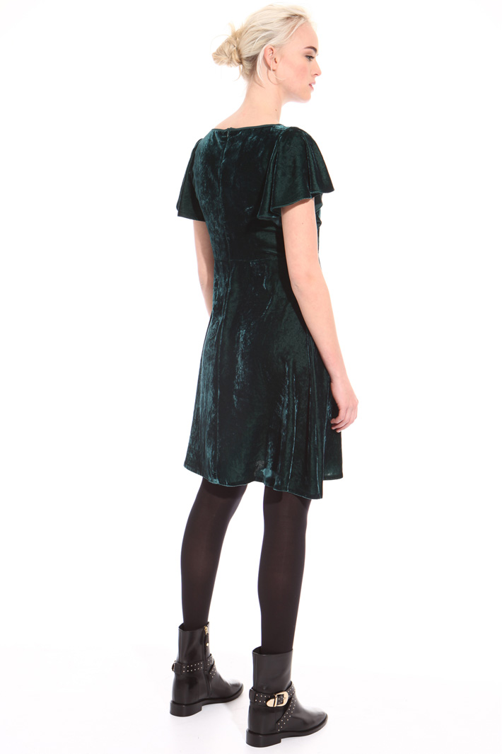 Fluid chenille dress Intrend