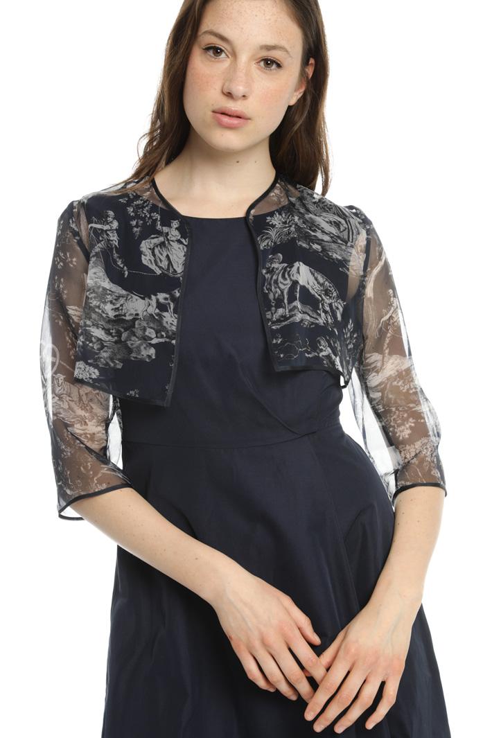 Fabric dress Intrend