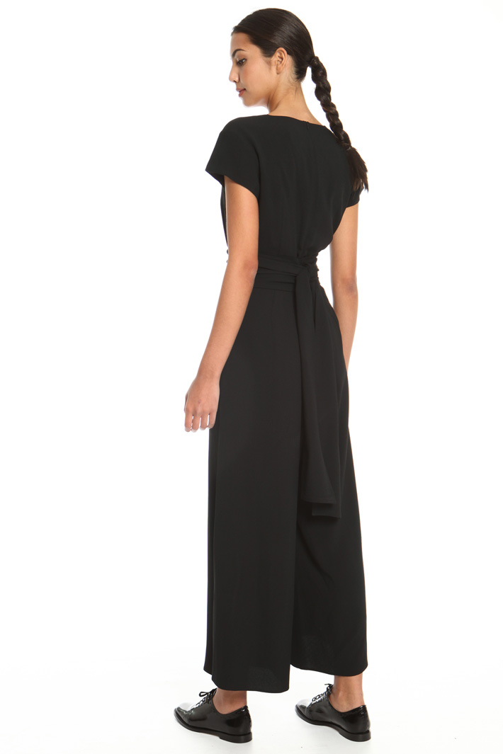 Belted sable jumpsuit Intrend