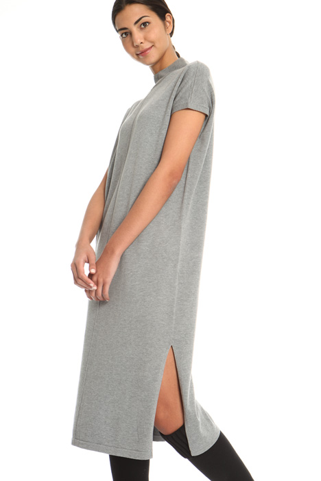 Knit dress with slits  Intrend