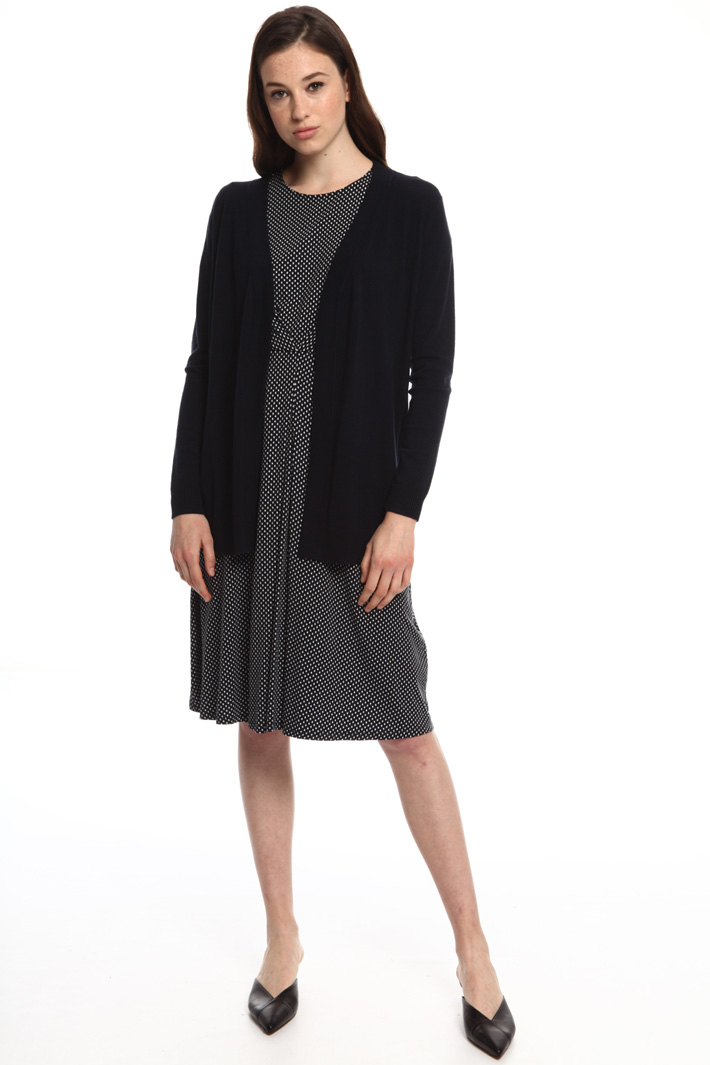 Silk and wool cardigan Intrend