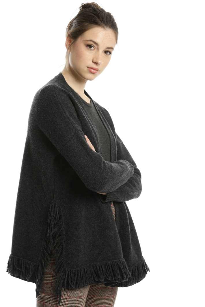 Pure wool yarn cardigan Intrend