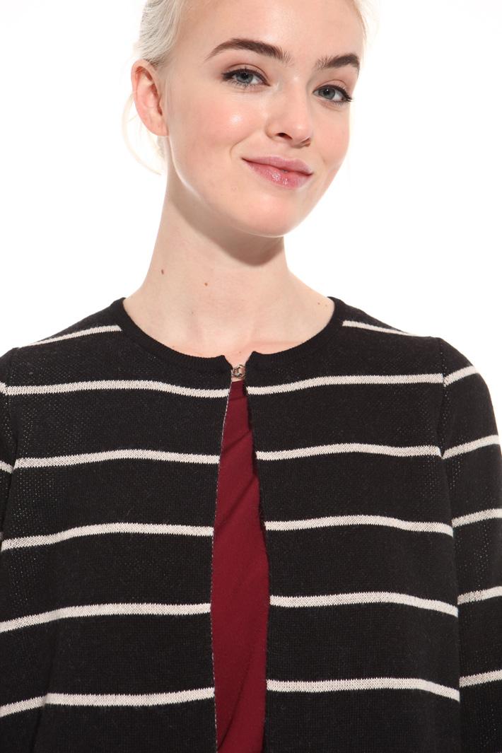 Long wool-blend cardigan Intrend