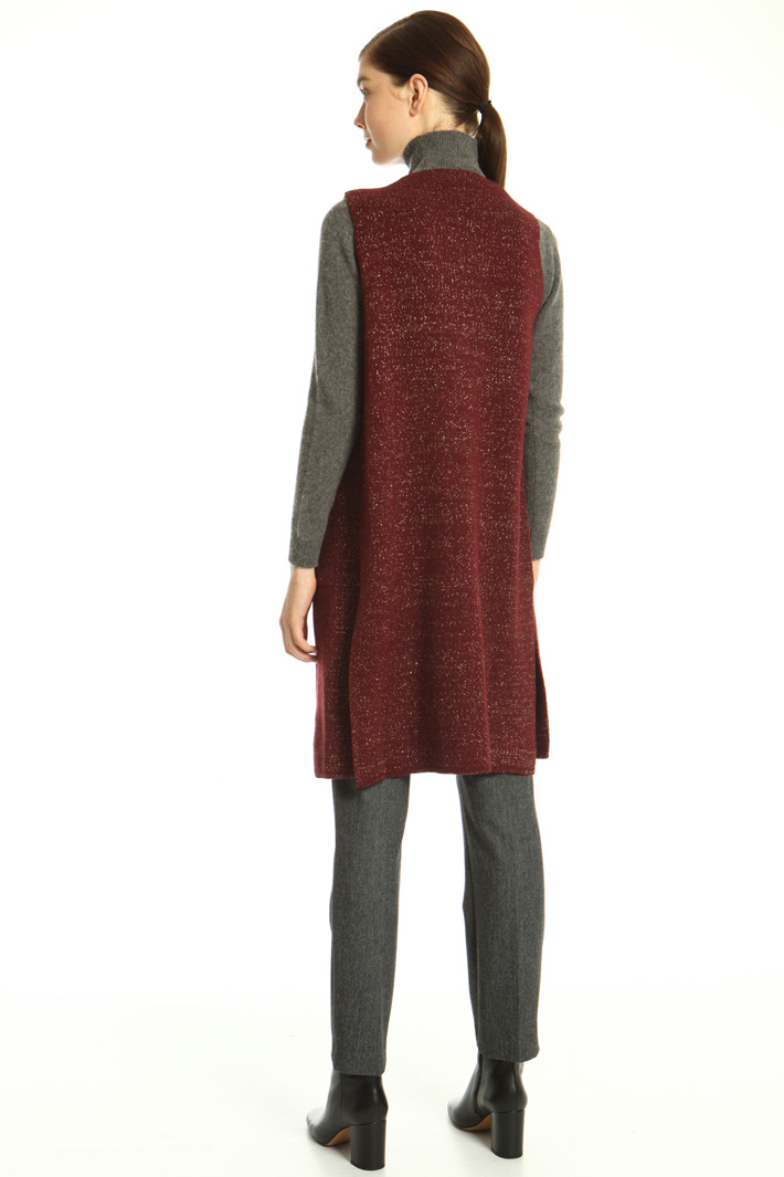 Knitted vest Intrend