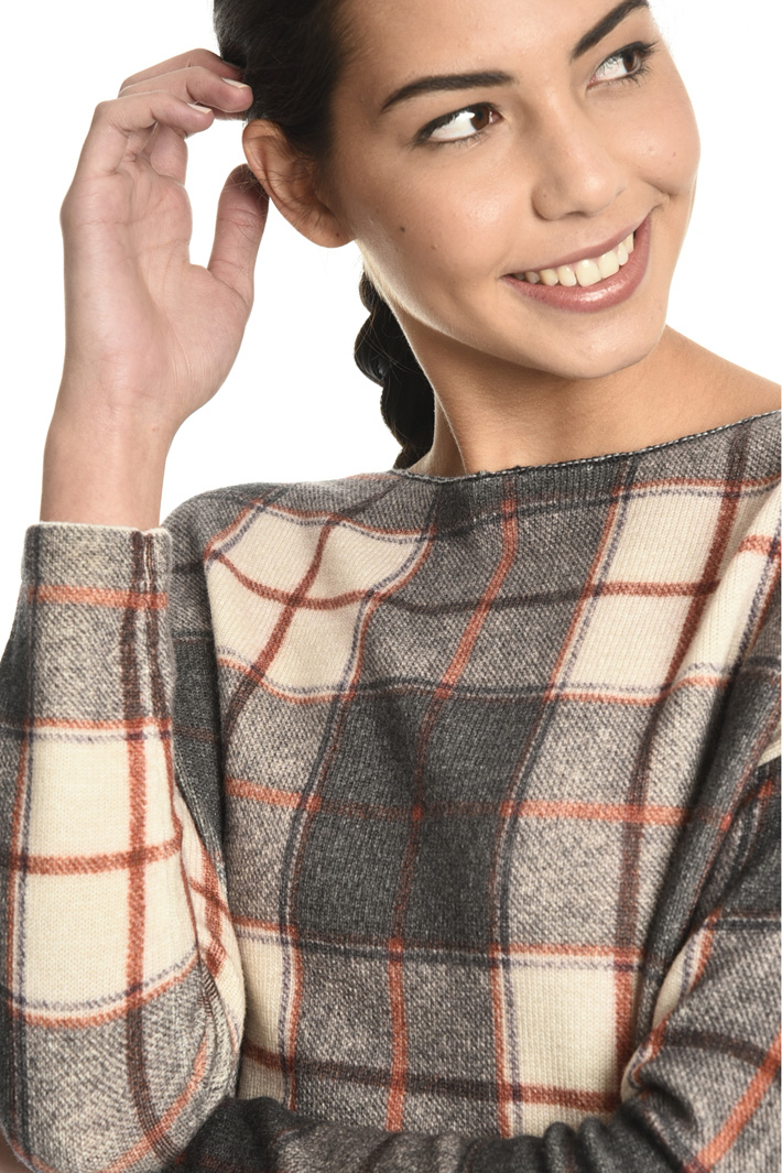 Printed wool sweater Intrend
